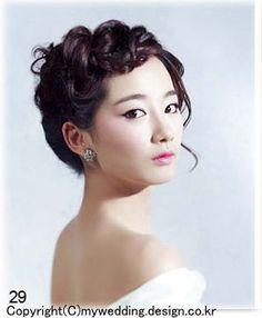【パーフェクトウェディング宣言!】-花嫁のヘアスタイル☆韓国5