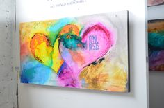 """HEART PAINTINGS AND HEART ART Tittle:""""10 Mil Besos"""" Visit our page at http://www.ivanguaderrama.com/ Buy Heart Prints http://fineartamerica.com/profiles/ivan-guaderrama-art-gallery.html"""