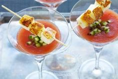 saganaki martini from at the table magazine Haloumi Cheese, Mini Cucumbers, Cheese Fries, Kalamata Olives, What To Cook, Martini, What's Cooking, Farms, Ethnic Recipes