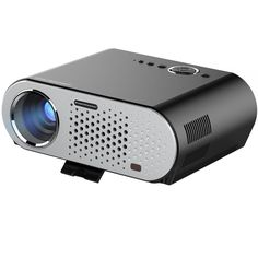 Video Projector Protable, CiBest LCD Projector HD 1080p 3200 Lumen LED Multimedia Home Cinema Theater Entertainment Movie Christmas Party Game Projector HDMI VGA USB for Laptop TV iPad Smartphone