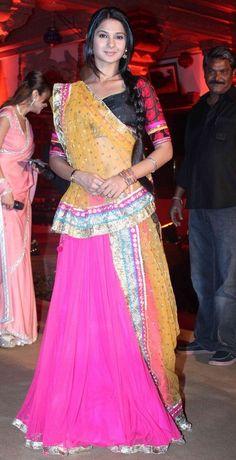 Jennifer Style Chaniya Choli from TV Show Saraswati Chandra