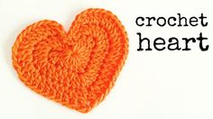 How to Crochet a Heart (Medium Size)