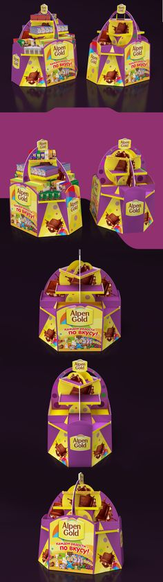 Alpen Gold pallet on Behance