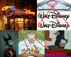 .Just like Walt Disney's famous Subliminal (666) Signature; you see the same exact subliminal (666) numerals on their store Logos which is flaunting there Subliminal Lucierian agenda to the blind eyed masses.