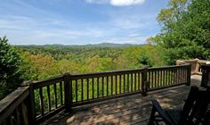 This just takes my breath away.  It even has a fenced yard for the dog.  Just 90 minutes north of Atlanta, GA in Ellijay.  Sliding Rock Cabins.