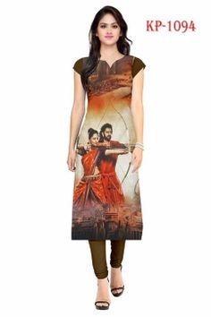 538e1bdebb Bahubali and devasena, Shubhkari Fashion Women's American Crepe Multi  Colour Kurta. Textile Infomedia · Wholesale Ladies Kurtis manufacturers in  India