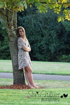 nice senior girl pose! good example of framing...