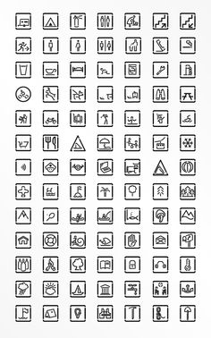 Icon selection by o-zone , via Behance
