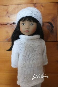 jane31 Doll Clothes Patterns, Doll Patterns, Clothing Patterns, Knitting Patterns, Crochet Patterns, Diy Doll, Little Darlings, Diy Projects To Try, Girl Dolls