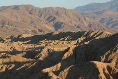 Sunrise at Anza-Borrego Desert, CA.