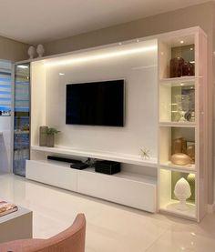 Living Room Wall Units, Living Room Tv Unit Designs, Home Living Room, Modern Tv Room, Modern Tv Wall Units, Modern Tv Unit Designs, Bar Designs, Tv Unit Interior Design, Tv Wall Design