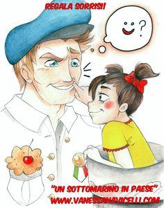 Regala sorrisi!!! :D #UnSottomarinoInPaese www.vanessanavicelli.com