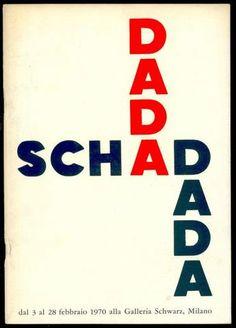 Christian SCHAD, Dada Schad. Milano, Galleria Schwarz, 1970. Catalogo di mostra. Testo dell'Artista in italiano, francese, inglese (Appunti autobiografici)