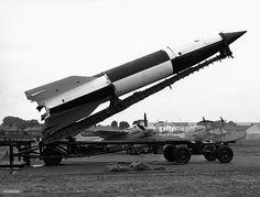 News Photo : V2 Rockets At Air Show