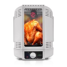 NutriChef Kitchen Vertical Countertop Rotisserie Rotating Oven Turkey Roaster For Thanks Giving , White (PKRT15) -- You can find out more details at the link of the image.