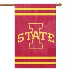 NCAA Iowa State Cyclones Applique Banner Flag