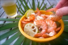 """This is a really, really easy recipe to make when guests are coming and you've no time to cook. With this version of """"Peel 'em & Eat 'em"""" shrimp--you can let your guests do the work of peeling the shrimp. Just tell them they taste better when peeled right before eating--they really do! I love the mustard sauce with the shrimp--it's a great change from the expected tomato-horseradish cocktail sauce. This recipe is adapted from a Bahamian cookbook(Best Recipes of ..."""