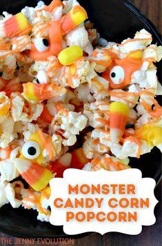 Halloween Monster Popcorn Candy Mix Recipe   The Jenny Evolution