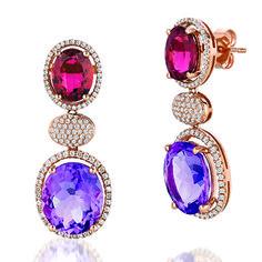 Fabtastic earrings by LE VIAN