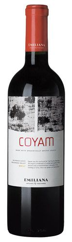 In stock - 47,89 € 2011 Emiliana Coyam, red dry, Chile - 90pt Opaque dark red color with viscous rim. At the beginning, we can sense in its aroma intense tones of dark forest fruit, sour cherries in chocolate with undertone of tobacco in the background. Taste is complex with nice tannins and dominance of earthy tones, followed by a persistent aftertaste of freshly milled coffee.