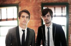 Brandon Urie & Spencer Smith from Panic! at the Disco