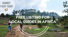 Are you a local guiding tourists in #africa? Submit you tour for free!