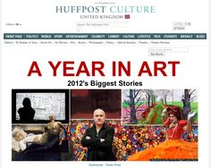 A YEAR IN ART - 2012's Biggest Stories