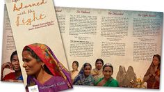 """""""Adorned with His Light"""" - FREE #prayer guide to walk you & your Bible study group through how to pray for Hindu women everywhere."""