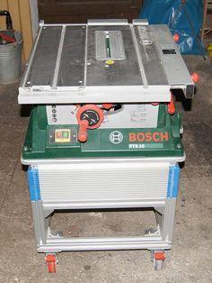 Bosch router pof 1400 ace bosch pinterest woodwork and moldings universal maschinen unterbau fr die pts10 bauanleitung zum greentooth Choice Image
