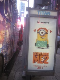 despicable me 2 movie billboard   Yellow Critters from Despicable Me 2 NYC 1684   Flickr - Photo Sharing ...
