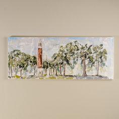 "Sarah Robertson University of Alabama ""The Quad"" Painting"