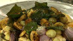 Bacalhau de forno com batatas e azeitonas - Receitas - Receitas GNT