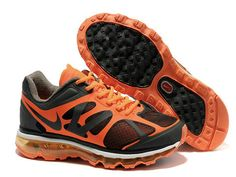 09da6935fda8 Nike Air Max 2012 Anthracite Total Orange .Model 487982-008 Cheap Jordans