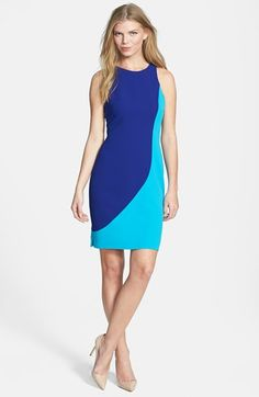 rachel roy sculpted dress in blue {40% off during Nordstrom's Half Yearly Sale!}