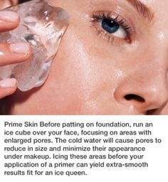 Prime Skin Before Applying Foundation