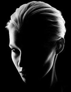 Facing the Shadow Self. Incredible lighting and shadows! LO