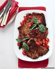 quick pork recipes these grilled pork paillards or rather cutlets are ...