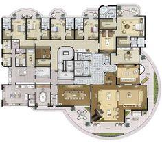 Condominio vol d' oiseau / 864m² / 5 suites