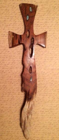 Wooden Driftwood Cross