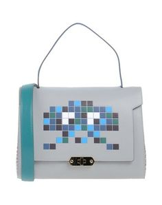 ANYA HINDMARCH . #anyahindmarch #bags #shoulder bags #hand bags #leather #satchel #lining #
