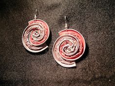 spiral earrings nespresso