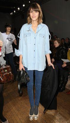 Un look total jean