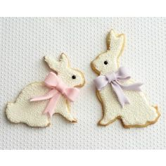 How To Make Bunny Cookies with Bows   CAKEGIRLS