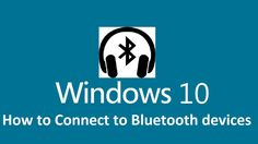 Learn how to connect Your Bluetooth Headset and speakers to Your Windows 10 Laptop or Desktop. Connect Bluetooth to windows How to Quickly Connect and Re. Windows 10 Tutorials, Computer Tips, Bluetooth Headphones, Speakers, Headset, Connection, Desktop, Laptop, Technology