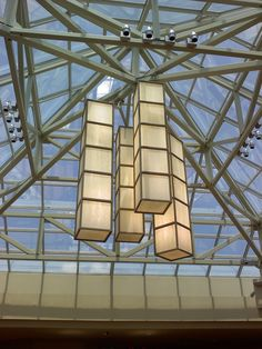 6-foot tall lamps - Cool Springs Galleria in Franklin, TN