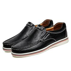 hot sale online db9d5 0b96b Male Chic Stitching Leather Oxford Shoes - 30.92 Free Shipping. Just  17.08 ...