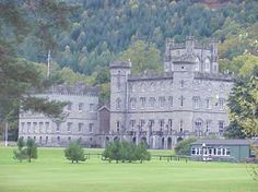 clan gregor castles | Taymouth Castle, Perthshire. Seat of the Campbell earls of Breadalbane