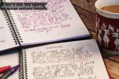 I love how she's using Between Me And You™ journals to reach out to her teenage daughter during fragile times.