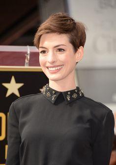 Anne Hathaway Pixie - Pixie Lookbook - StyleBistro