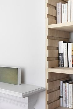 That bookshelf would be so easy tp make! william smalley architect / edwardian house refurbishment, london